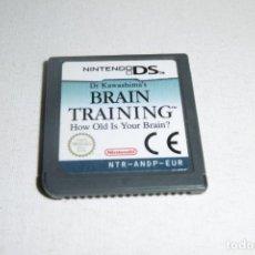 Videojuegos y Consolas: NINTENDO DS NDS BRAIN TRAINING. Lote 269145438