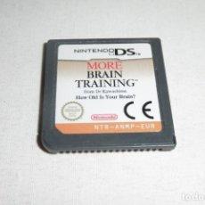 Videojuegos y Consolas: NINTENDO DS NDS MORE BRAIN TRAINING. Lote 269145968