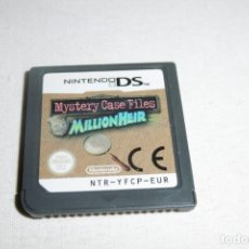 Videojuegos y Consolas: NINTENDO DS NDS MISTERY CASE FILES MILLION HEIR. Lote 269147403