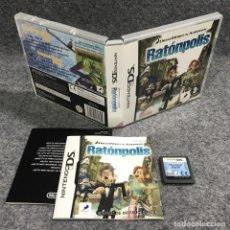 Videojuegos y Consolas: RATONPOLIS NINTENDO DS. Lote 269685663