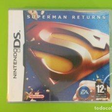 Videojuegos y Consolas: NINTENDO DS NDS SUPERMAN RETURNS - PAL ESPAÑA - PRECINTADO. Lote 269724438