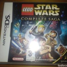 Videojuegos y Consolas: JUEGO NINTENDO DS LEGO STAR WARS THE COMPLETE SAGA. Lote 269747188