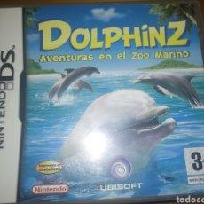 Videojuegos y Consolas: JUEGO NINTENDO DS DOLPHINZ AVENTURAS EN EL ZOO MARINO. Lote 269748258