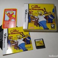 Videojuegos y Consolas: LOS SIMPSONS - EL VIDEOJUEGO ( NINTENDO DS - 3DS - PAL - ESP). Lote 269816263
