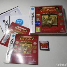 Videojuegos y Consolas: EL PROFESOR LAYTON Y LA CAJA DE PANDORA ( NINTENDO DS - 3DS - PAL - ESP). Lote 269816358