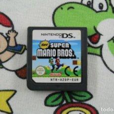 Videojuegos y Consolas: NINTENDO DS NDS NEW SUPER MARIO BROS ORIGINAL SOLO CARTUCHO PAL EUR. Lote 270571698