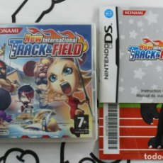 Videogiochi e Consoli: NINTENDO DS NDS NEW INTERNATIONAL TRACK AND FIELD BUEN ESTADO PAL ESPAÑA. Lote 271072473