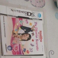 Videojuegos y Consolas: IMAGINA TU DIARIO SECRETO DS 2DS 3DS DSI DSXL PAL ESP. Lote 273546668