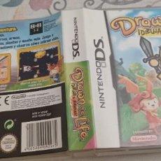 Videojuegos y Consolas: DRAWN TO LIFE DIBUJA TU AVENTURA DS 2DS 3DS DSI DSXL PAL ESP. Lote 273548658