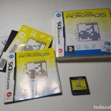 Videogiochi e Consoli: PICROSS DS ( NINTENDO DS - 3DS - PAL - ESP). Lote 273640568