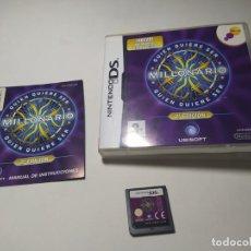 Videogiochi e Consoli: QUIEN QUIERE SER MILLONARIO 2 ( NINTENDO DS - 3DS - PAL - ESP). Lote 273640703