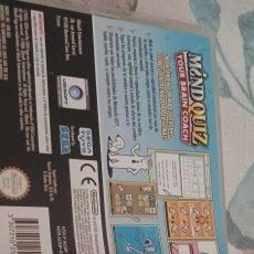 Videojuegos y Consolas: MINDQUIZ YOUR BRAIN COACH DS 2DS 3DS DSI DSXL PAL ESP. Lote 274010213