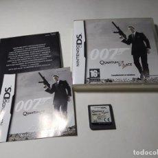 Videogiochi e Consoli: 007 QUANTUM OF SOLACE ( NINTENDO DS - 3DS - PAL - ESP) (1). Lote 275600988