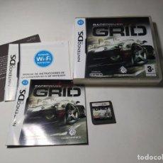 Videogiochi e Consoli: GRID ( NINTENDO DS - 3DS - PAL - ESP) (1). Lote 275601563