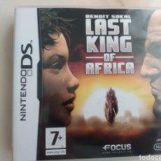 Videojuegos y Consolas: JUEGO LAST KING OF AFRICA NINTENDO DS. Lote 276918848