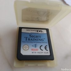 Videojuegos y Consolas: JUEGO SIGHT TRAINING NINTENTO DS. Lote 276938753