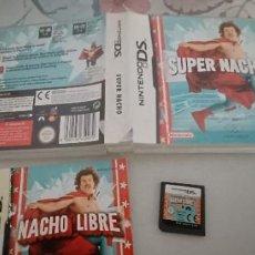 Videojuegos y Consolas: SUPER NACHO - NINTENDO DS PAL ESP. Lote 277087383
