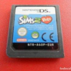 Videojuegos y Consolas: NINTENDO DS - SIMS 2 PETS - CARTUCHO.. Lote 277521678