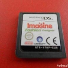 Videojuegos y Consolas: NINTENDO DS - IMAGINE FASHION DESIGNER - CARTUCHO.. Lote 277522148