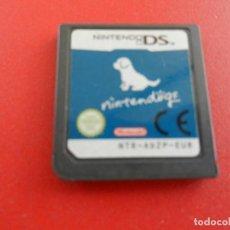 Videojuegos y Consolas: NINTENDO DS - NINTENDÖGS - AD2P-EUR - CARTUCHO AZUL.. Lote 277525038