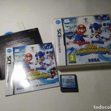 Videojuegos y Consolas: MARIO Y SONIC JJOO DE INVIERNO ( NINTENDO DS - 3DS - PAL - ESP) (1). Lote 277686953