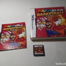 Videojuegos y Consolas: MARIO SLAM BASKETBALL ( NINTENDO DS - 3DS - PAL - ESP) (1). Lote 277687188