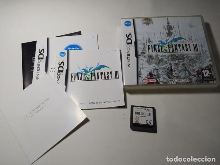 FINAL FANTASY III ( NINTENDO DS - 3DS - PAL - ESP) (1) (Juguetes - Videojuegos y Consolas - Nintendo - DS)