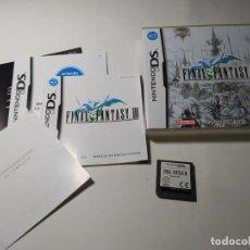 Videojuegos y Consolas: FINAL FANTASY III ( NINTENDO DS - 3DS - PAL - ESP) (1). Lote 277687298