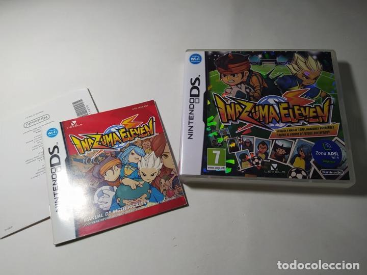 INAZUMA ELEVEN ( SOLO CAJA E INSTRUCCIONES NO EL JUEGO!!) ( NINTENDO DS - 3DS - PAL - ESP) (Juguetes - Videojuegos y Consolas - Nintendo - DS)