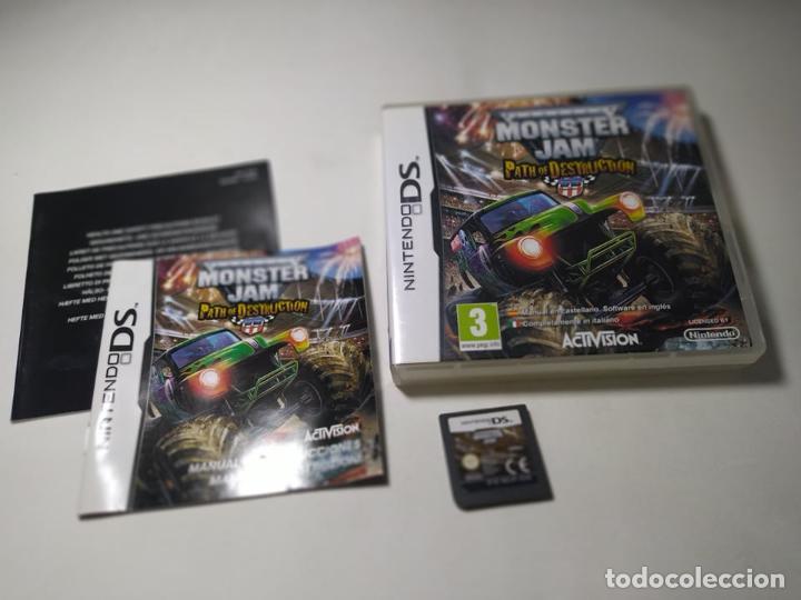 MONSTER JAM PATH OF DESTRUCTION ( NINTENDO DS - 3DS - PAL - ESP) (1) (Juguetes - Videojuegos y Consolas - Nintendo - DS)