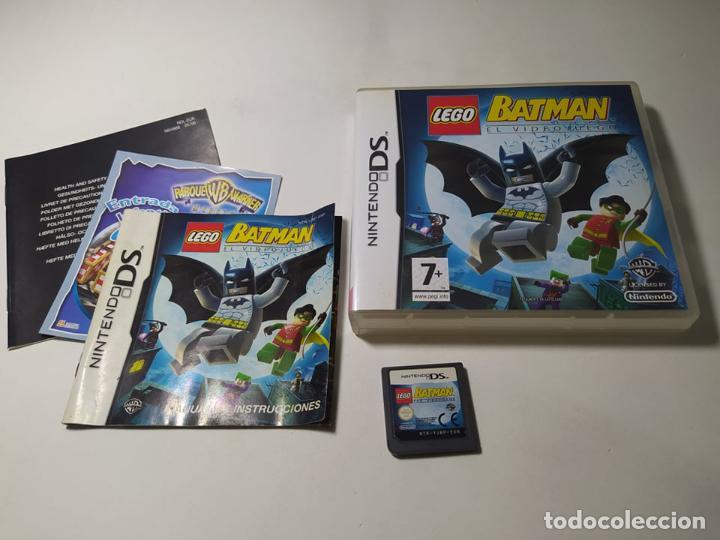 LEGO BATMAN EL VIDEOJUEGO ( NINTENDO DS - 3DS - PAL - ESP) (1) (Juguetes - Videojuegos y Consolas - Nintendo - DS)
