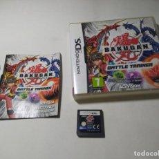 Videojuegos y Consolas: BAKUGAN BATTLE TRAINER ( NINTENDO DS - 3DS - PAL - ESP) (1). Lote 277711948