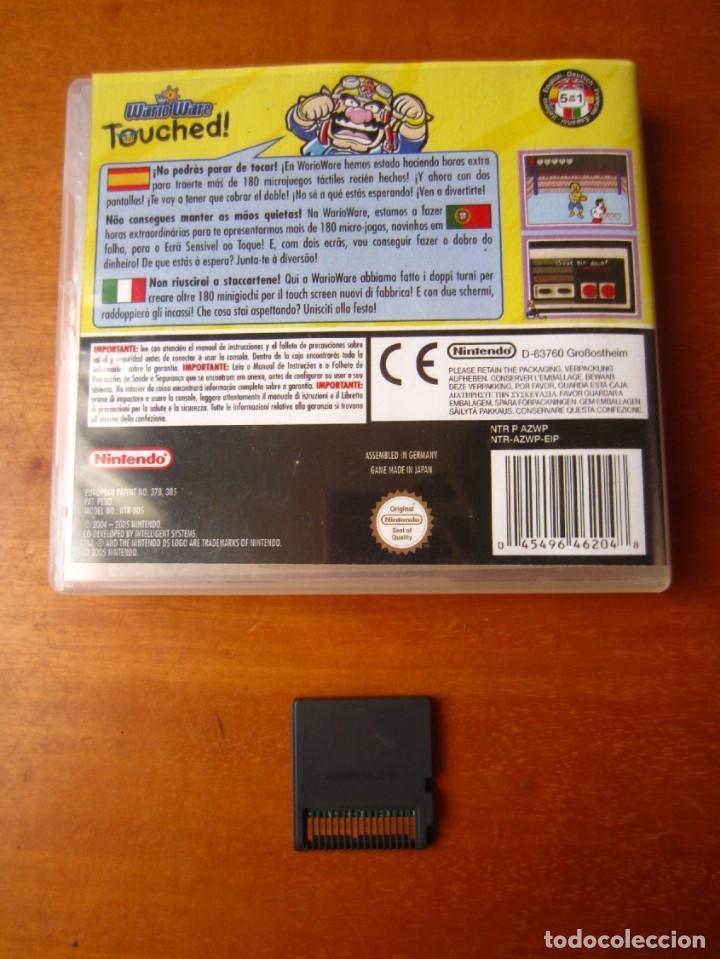 Videojuegos y Consolas: WarioWare Touched (Nintendo DS) - Foto 7 - 278302688