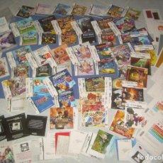 Videojuegos y Consolas: GRAN LOTE NINTENDO DS 3DS: CARATULAS, MANUALES LIBRETOS Y VARIOS. MANUAL. JUEGOS VIDEOJUEGOS CONSOLA. Lote 278940733