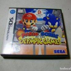 Videojuegos y Consolas: MARIO & SONIC OLYMPIC GAMES JUEGO DE NINTENDO DS. Lote 279592338