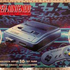 Videogiochi e Consoli: SUPER NINTENDO ENTERTAINMENT SYSTEM. Lote 283062778