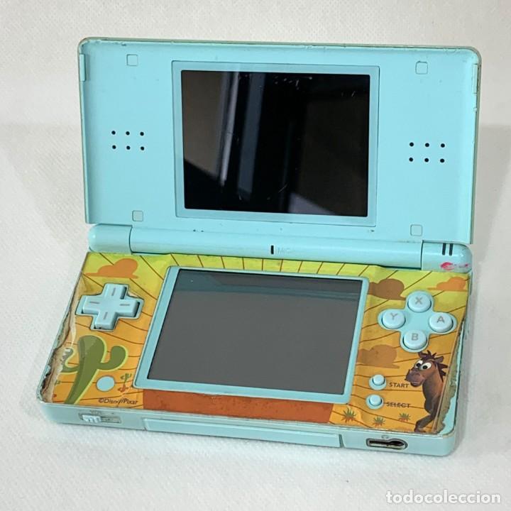 CONSOLA NINTENDO DS LITE - AZUL CLARO - FUNCIONA (Juguetes - Videojuegos y Consolas - Nintendo - DS)