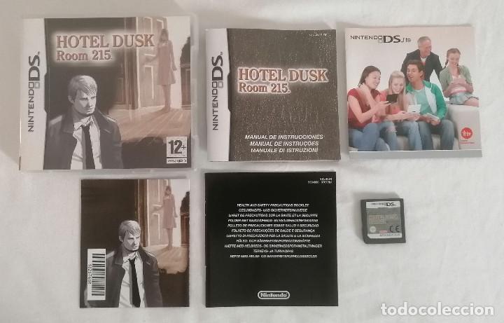 NINTENDO DS HOTEL DUSK ROOM 215 COMPLETO PAL ESPAÑA (Juguetes - Videojuegos y Consolas - Nintendo - DS)