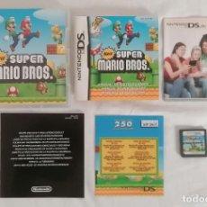 Videojogos e Consolas: NINTENDO DS SUPER MARIO BROS COMPLETO PAL ESPAÑA. Lote 287612848