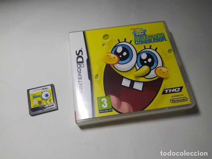 BOB ESPONJA - ATRAPADOS EN EL CONGELADOR ( NINTENDO DS - PAL - ESP) (Juguetes - Videojuegos y Consolas - Nintendo - DS)