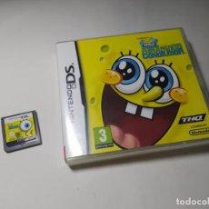 Videojuegos y Consolas: BOB ESPONJA - ATRAPADOS EN EL CONGELADOR ( NINTENDO DS - PAL - ESP). Lote 287876438