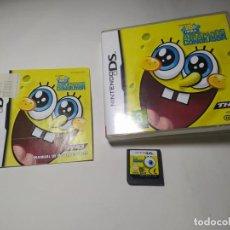 Videojuegos y Consolas: BOB ESPONJA - ATRAPADOS EN EL CONGELADOR ( NINTENDO DS - PAL - ESP)(1). Lote 287876483