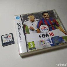 Videojuegos y Consolas: FIFA 10 ( NINTENDO DS - PAL - ESP). Lote 287876533