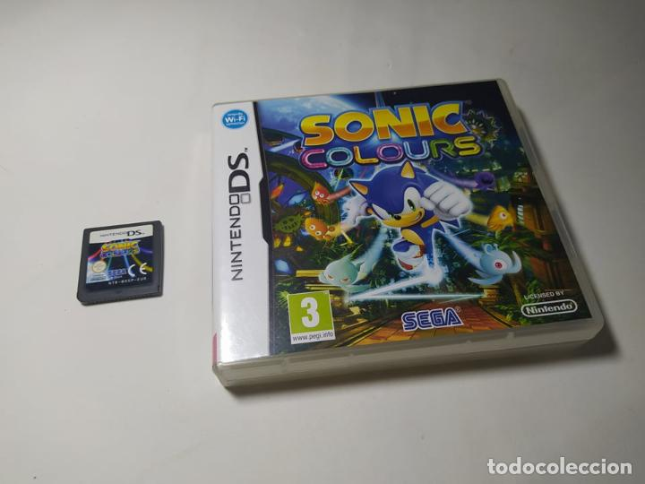 SONIC COLOURS ( NINTENDO DS - PAL - ESP) (Juguetes - Videojuegos y Consolas - Nintendo - DS)