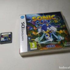 Videojuegos y Consolas: SONIC COLOURS ( NINTENDO DS - PAL - ESP). Lote 287876698