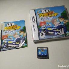 Videojuegos y Consolas: TIM POWER CONTRA LOS VILLANOS ( NINTENDO DS - PAL - ESP). Lote 287876868