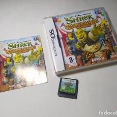 Videojuegos y Consolas: SHREK CARNIVALES GAMES ( NINTENDO DS - PAL - ESP). Lote 287876913