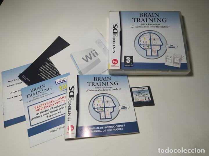 BRAIN TRAINING ( NINTENDO DS - PAL - ESP)(1) (Juguetes - Videojuegos y Consolas - Nintendo - DS)