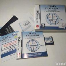 Videojuegos y Consolas: BRAIN TRAINING ( NINTENDO DS - PAL - ESP)(1). Lote 287877003