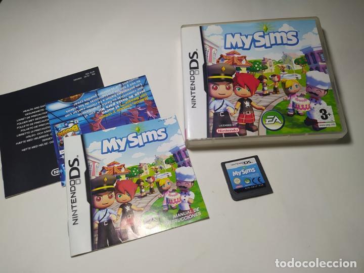 MY SIMS ( NINTENDO DS - PAL - ESP)(1) (Juguetes - Videojuegos y Consolas - Nintendo - DS)